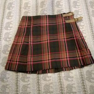 Tommy Hilfiger plaid school girl skirt straps